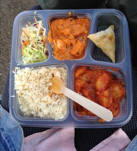 Food at London Zoo Lates