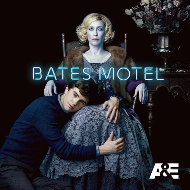 Bates Motel Norman Bates and Norma Bates