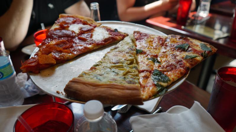 Artichoke Basille Pizza New York City