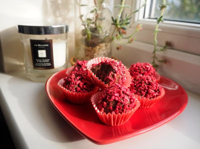 homemade chocolate truffle recipe