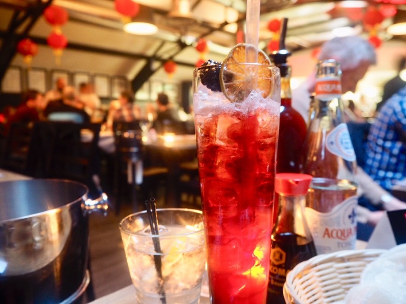 Mr Lau's Chinese restaurant Warrington cocktail menu