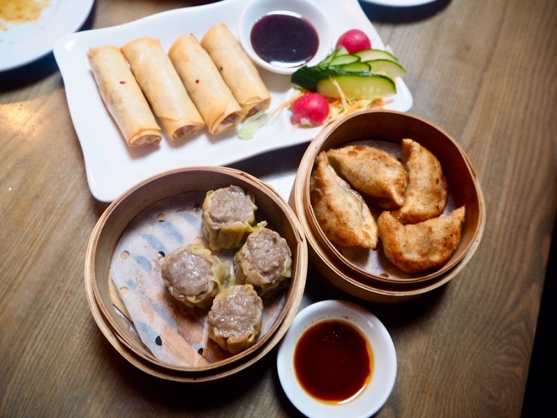 Mr Lau's Chinese restaurant Warrington dim sum menu