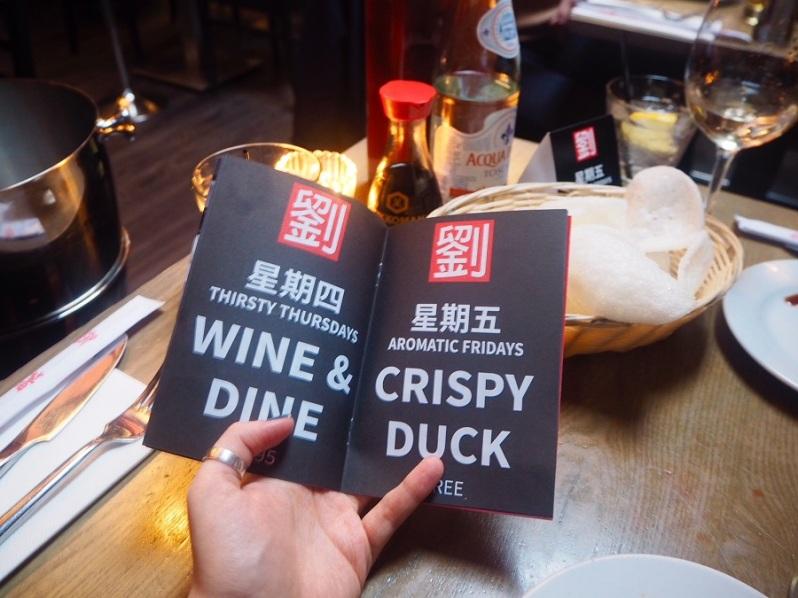 Mr Lau's Chinese restaurant Warrington deals